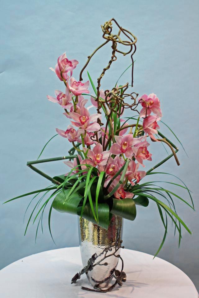 Beautiful orchid design by Crossroads Florist, Mahwah NJ