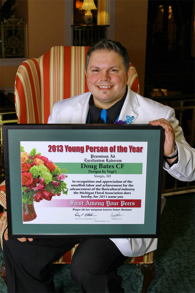 Doug Bates - 2013 Young Person of the Year