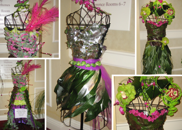 Flora Couture at the Northeast Floral Expo