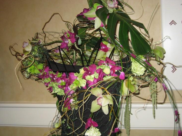 Botanical Dress Design