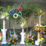 Olympic display at the 2013 Great Lakes Floral Expo
