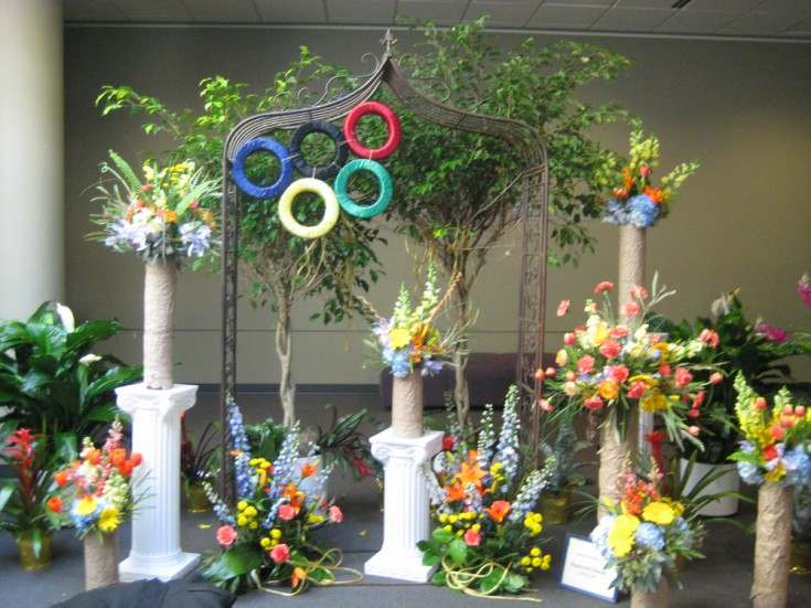 The Floral Olympics at the Great Lakes Floral Expo