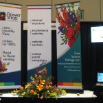 FSN Trade Show Booth at the 2013 Great Lakes Floral Expo