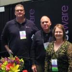 FSN's Jamie Adams with Mark & Tim from FloristWare