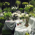 Mayesh's very green booth at the 2013 Great Lakes Floral Expo