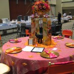 Beautiful tablescape at the 2013 Great Lakes Floral Expo