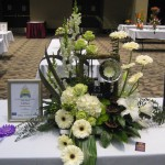 Unusual photographer themed design at the 2013 Great Lakes Floral Expo