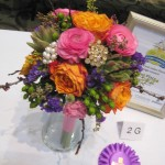 Mixed wedding bouquet at the 2013 Great Lakes Floral Expo