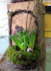 Adorable spring design by Inspirations Floral Studio, Lock Haven PA