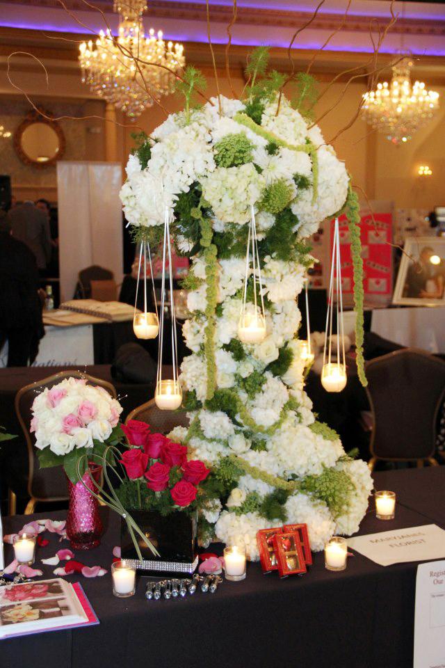 Incredible wedding flowers by MaryJane's Flowers & Gifts, Berlin NJ