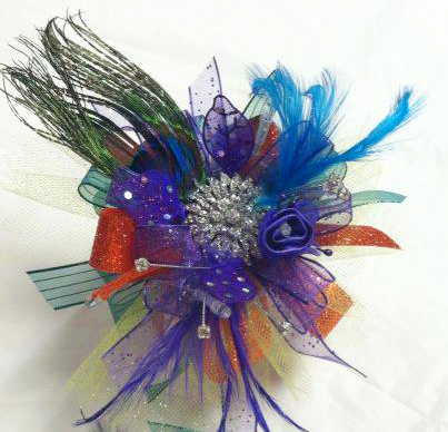 Fun prom corsage by Sweet Expressions Florist, Quitman TX