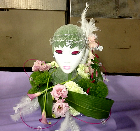 Great Gatsby Themed Flower Arrangement