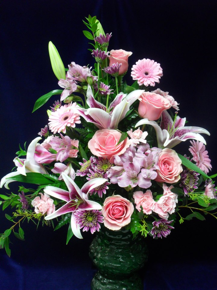 Tribute flowers by Buds & Blossoms, Edgewood MD