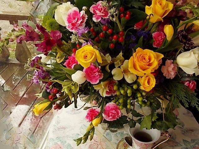 Flower arrangement by Charm's Floral of Asheville, Asheville NC
