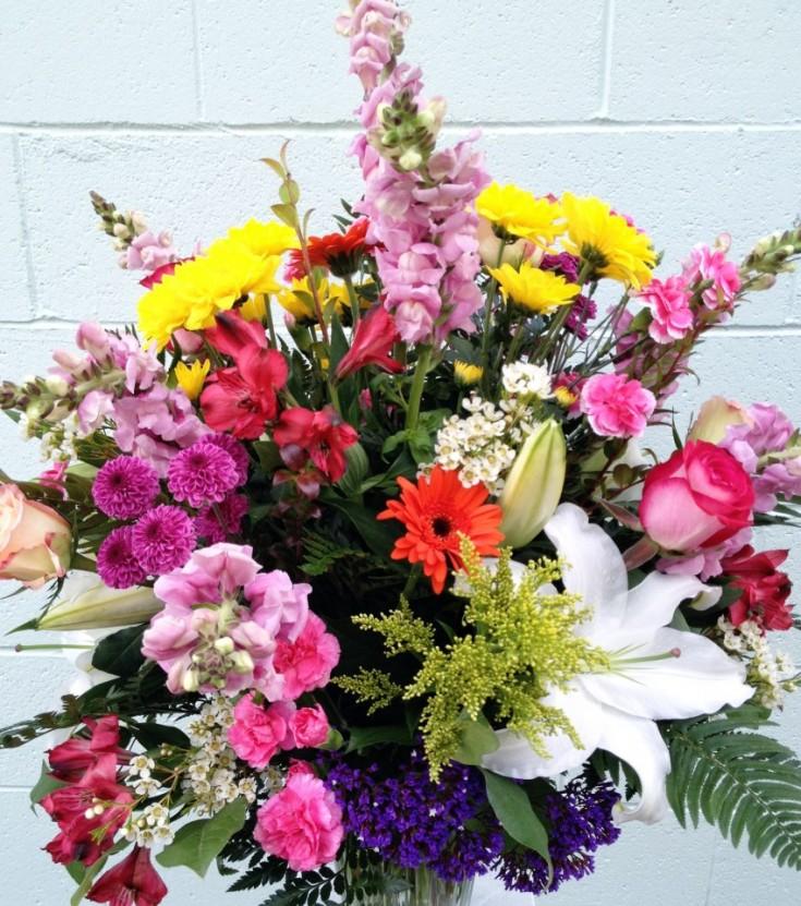 Spring flowers by Everett Floral, Everett WA