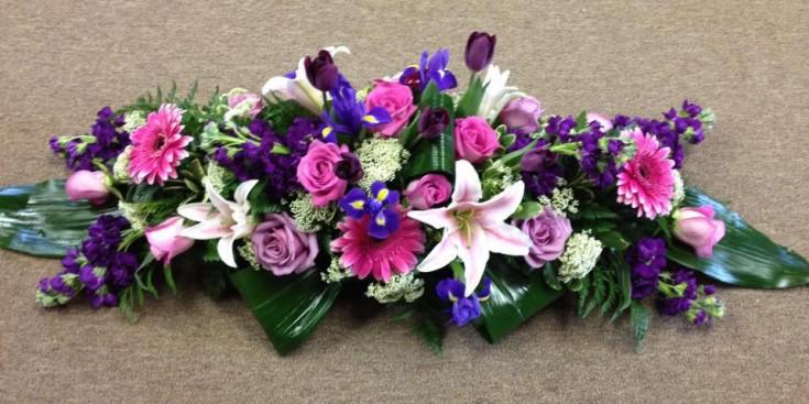 Wedding centerpiece by Flower Boutique, Cherry Hill NJ