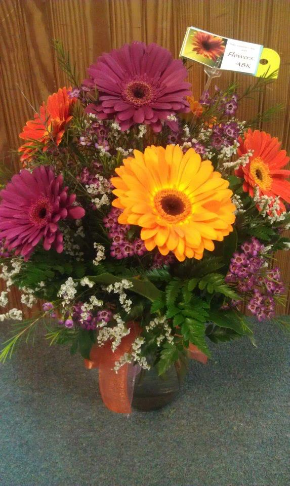 Favorite arrangement of the week by Flowers ABK, North Windham CT
