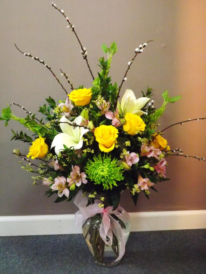 Cute spring design by Flowers ABK, North Windham CT