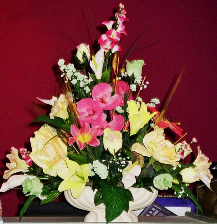 Beautiful arrangement by Seju Selektion, Bridgetown Barbados