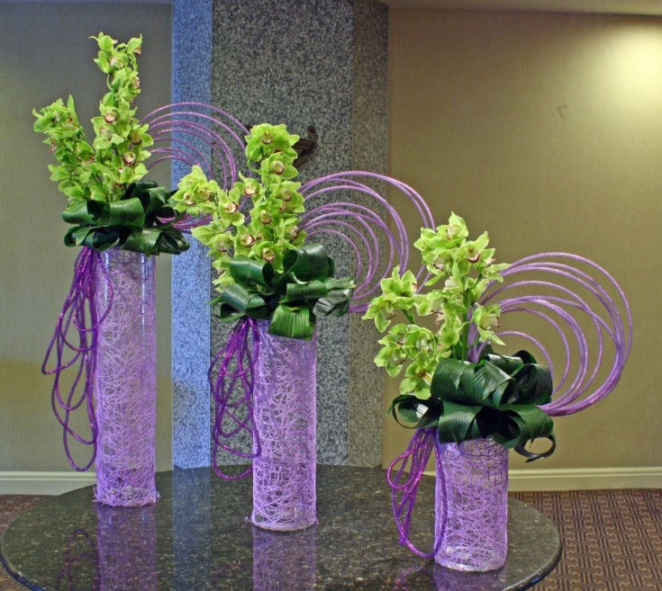 Optical Delusion arrangement by Crossroads Florist, Mahwah NJ