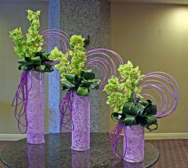 Optical Delusion arrangement by Crossroads Florist, Mahwah NJ