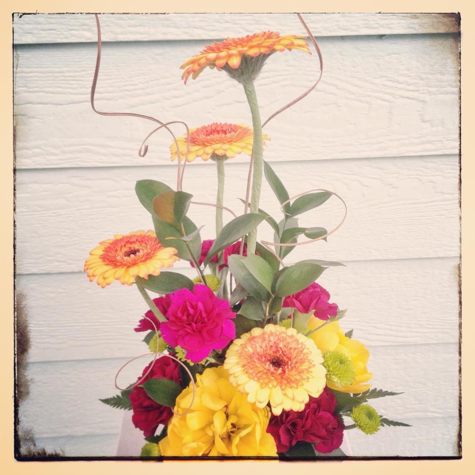 Cute daisy flowers by Everett Floral, Everett WA