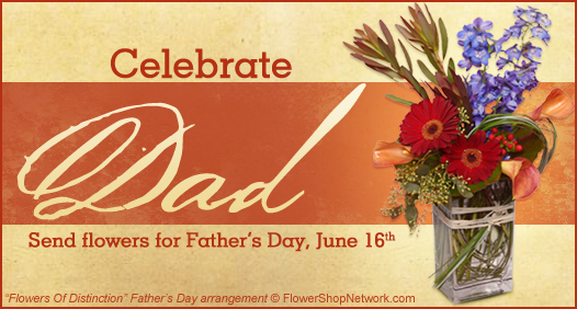 Father's Day is June 16th!