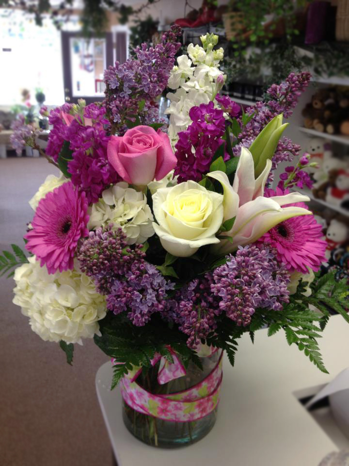 Spring flowers by Flower Boutique, Cherry Hill NJ