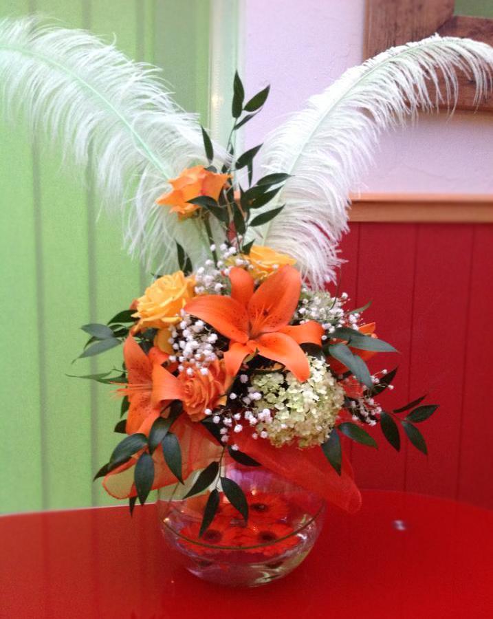 Unique arrangement by Flower Factory, Swindon England