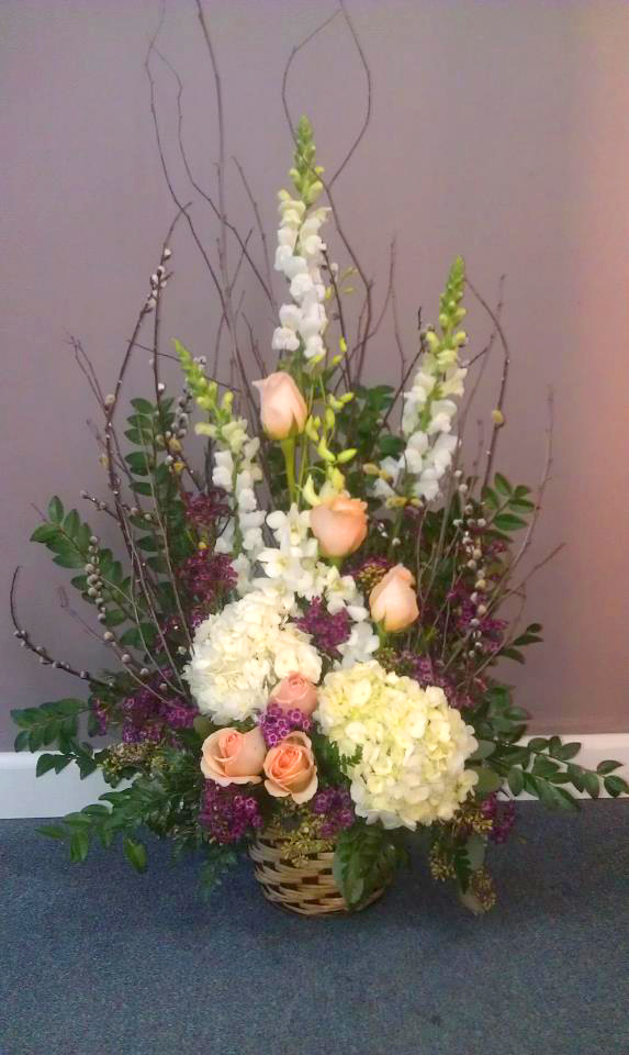 Mother's Day floral design by Flowers ABK, North Windham CT