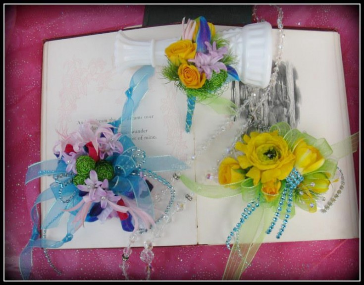 Prom corsages by Flowers by Karen, Monroe WA