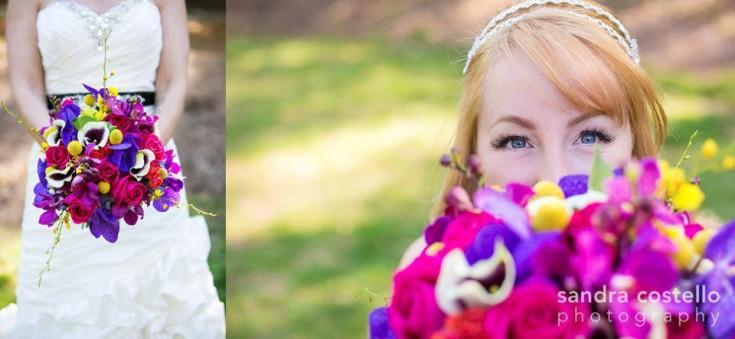 Wedding flowers by Forget Me Knot Florist, Northampton MA