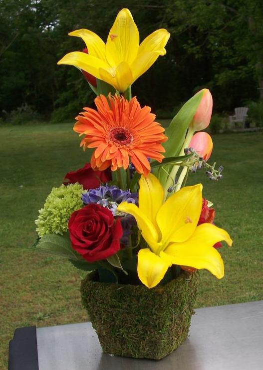 Sweet arrangement by Lasting Florals, Midlothian VA