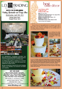 Lori Himes featured in Florist Review