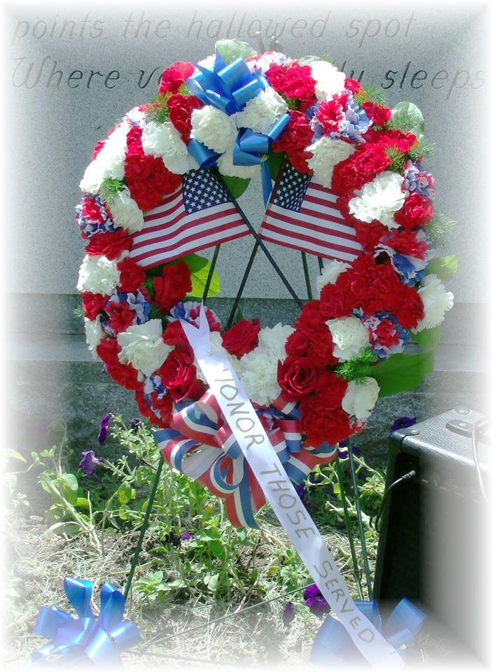 Memorial Day flowers by MaryJane's Flowers & Gifts, Berlin NJ