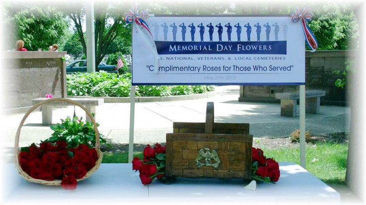 Roses for Memorial Day by MaryJane's Flowers & Gifts, Berlin NJ