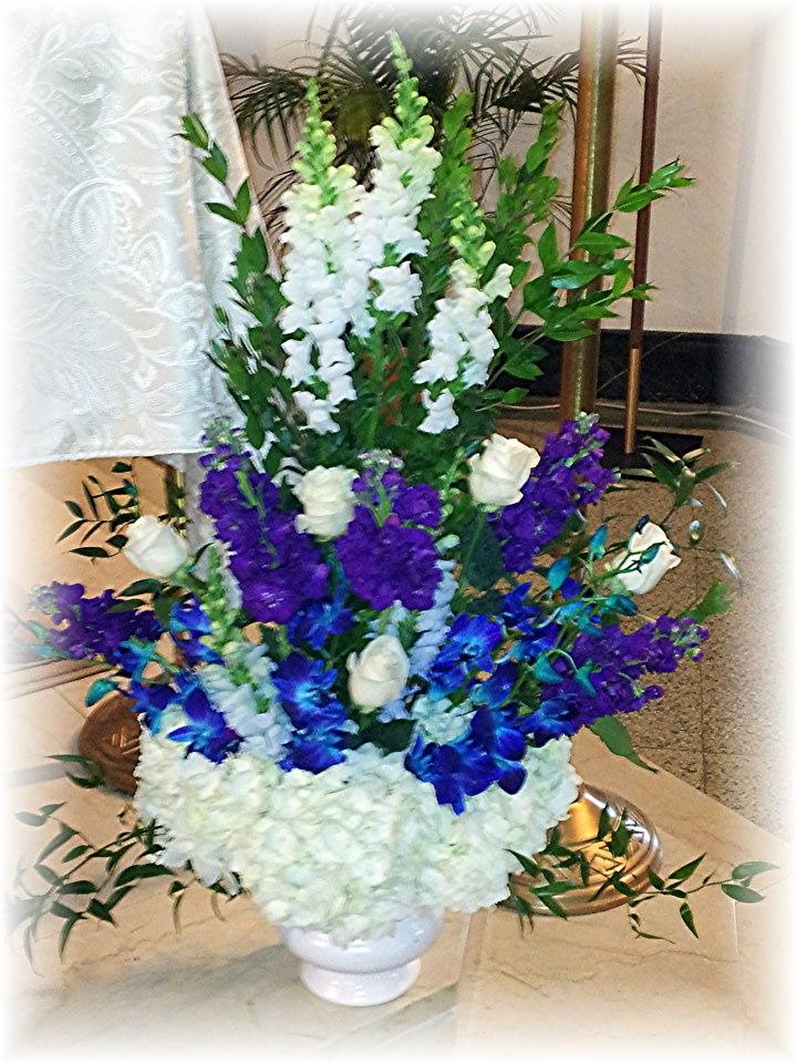 Altarpiece by MaryJane's Flowers & Gifts, Berlin NJ