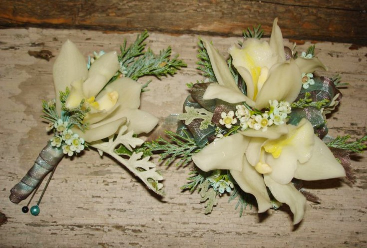 Prom flowers by The Petal Patch, McFarland WI