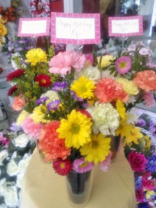Pretty flower arrangement Wilma's Flowers, Japser AL