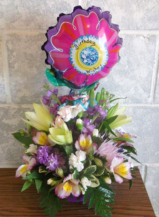 Birthday flowers by A-1 Flowers & More, Cottonwood ID