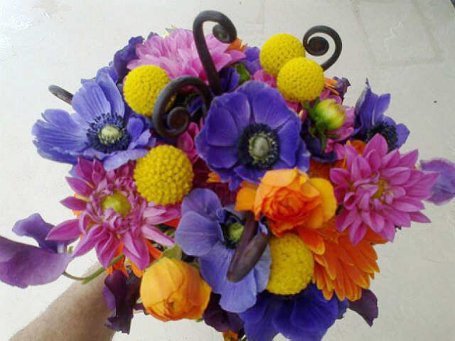 Fresh summer bouquet by Blossoms, Springfield MO
