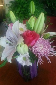 Lily design by Cottage Flowers & Gifts, Pasadena TX