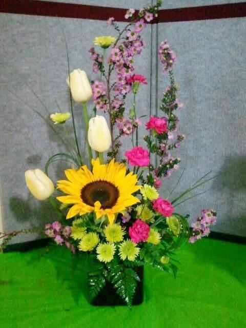 Cute summer flowers by Cottage Flowers, Pasadena TX