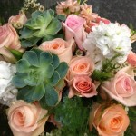 Sweet succulent bouquet by The Flower Patch & More, Bolivar MO