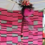 The FSN Spirit Stick and handmade quilt to raffle
