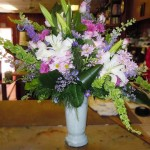 Summer flowers by Patricia Ann Florist, South Bend IN