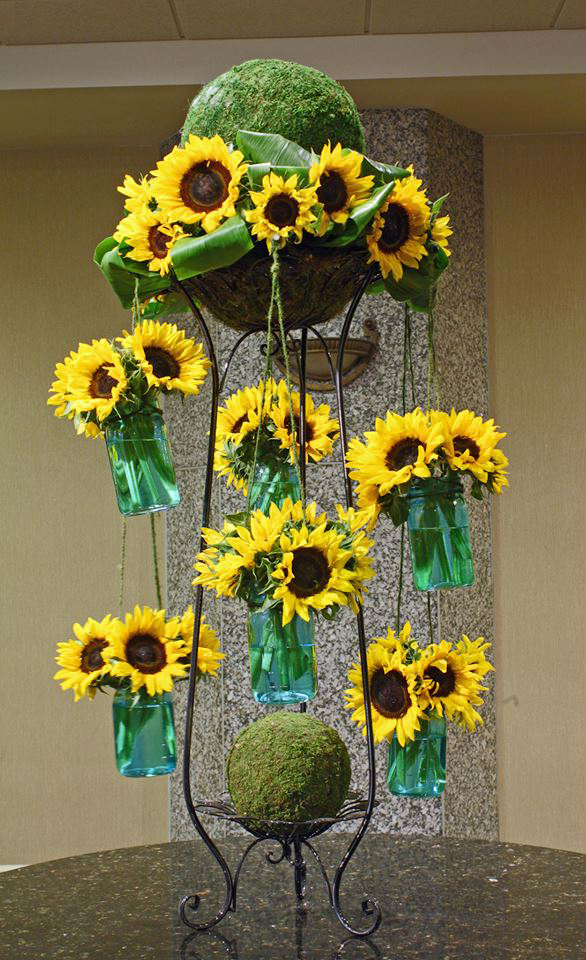 Sunflower Carousel by Crossroads Florist, Mahwah NJ
