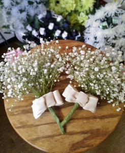 Country wedding flowers by Wilma's Flowers, Jasper AL