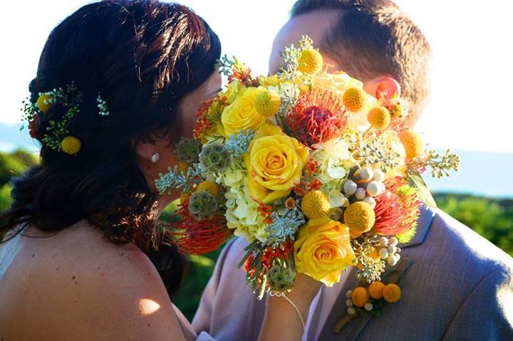 Summer Wedding Bouquet by Banda's Bouquet, Longview WA