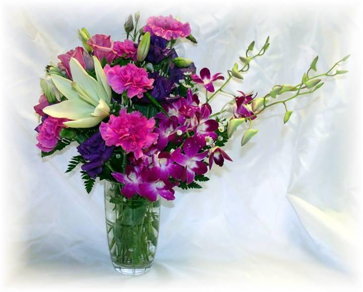 Birthday flowers by MaryJane's Flowers & Gifts, Berlin NJ